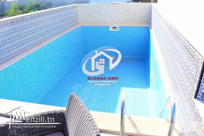villa style américain avec piscine