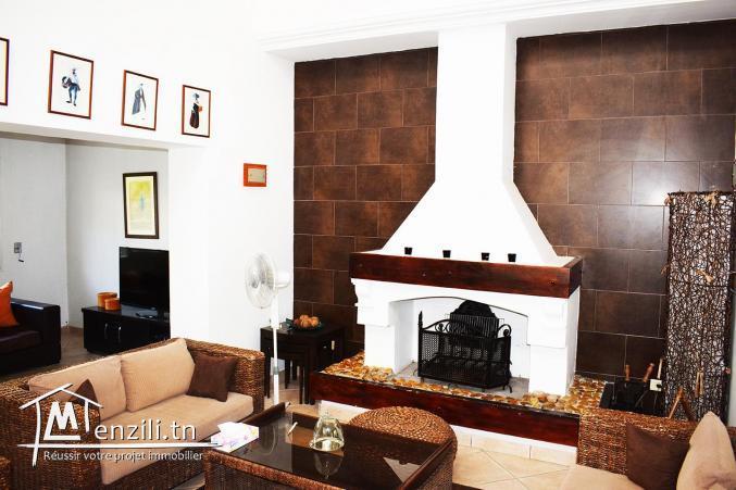 une opportunité de luxe une coquette villa à la Soukra