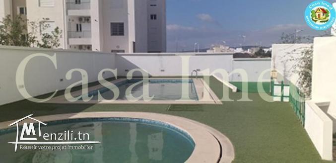 UN DUPLEX avec piscine à AFH Mrezga Hammamet Nord