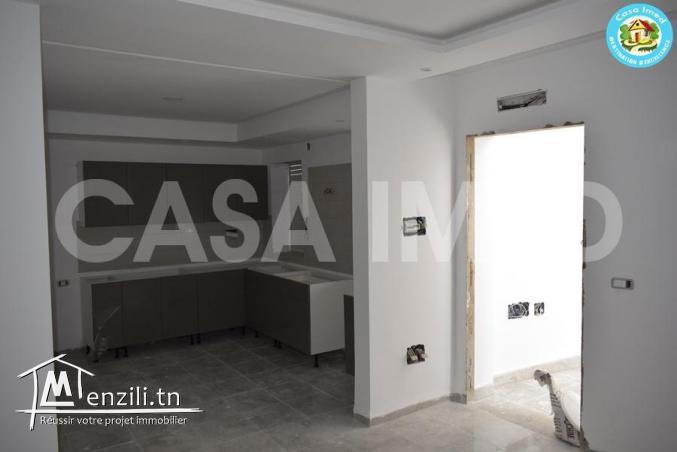 un appartement en RC , à 5 min de la zone touristique Hammamet Nord