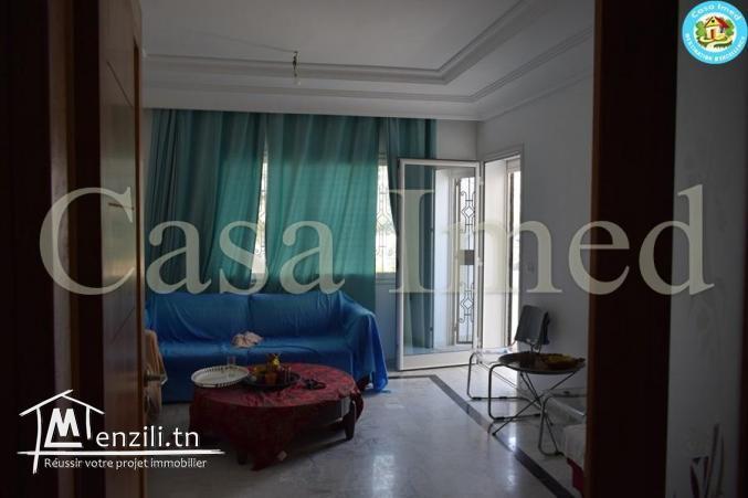 un Appartement  au RC  dans une résidence gardée FAH MRZGA