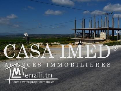 Des terrains à vendre situés à Menzel Ibrahim
