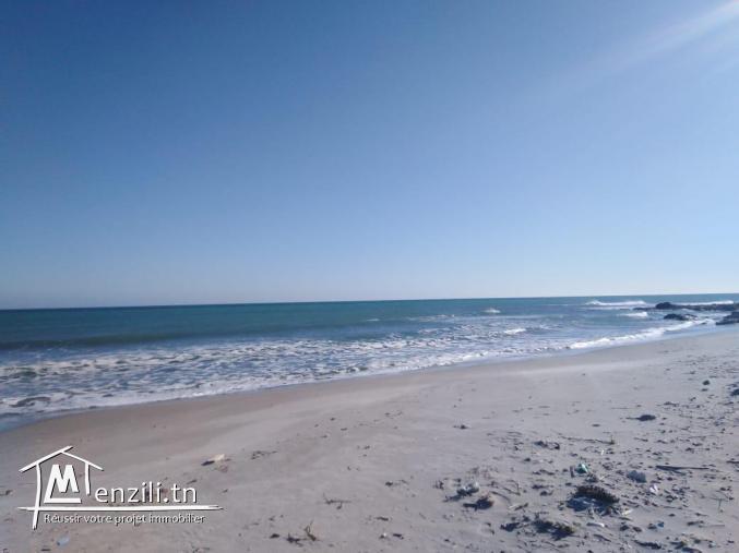 terrain  a kerkouane a 800 m de la plage