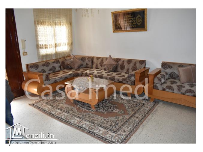 une grande villa située  à slimane khahia Manouba