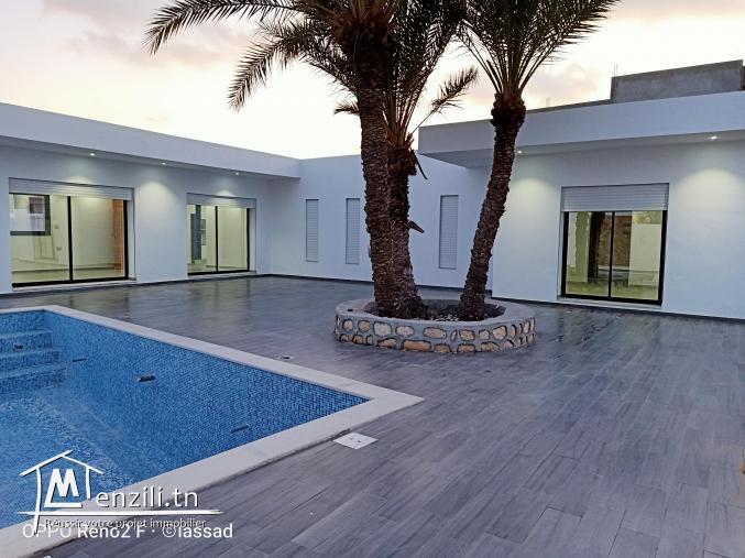 villa titré a Djerba tezdaine