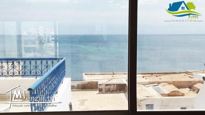 للبيع دار على بحر في قليبية ب 500 مليون