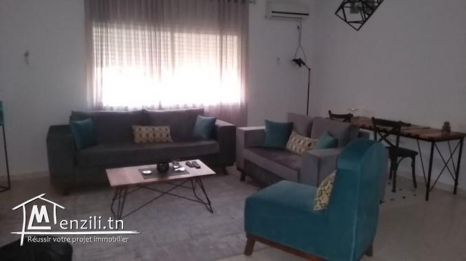appartement en étage de villa