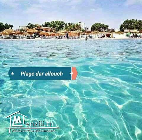 Trois Maison vue sur mer à Kelibia