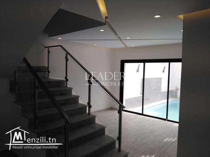 une belle villa de 215 m2 a hammamet