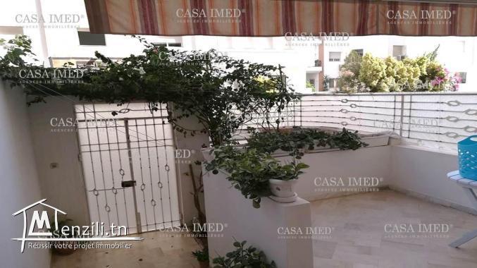 Appartement +2 à Ain zaghouan sud ( RC)