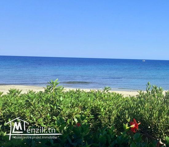 Maamoura plage loue villa meublée pieds dans l'eau s+5 été 2020