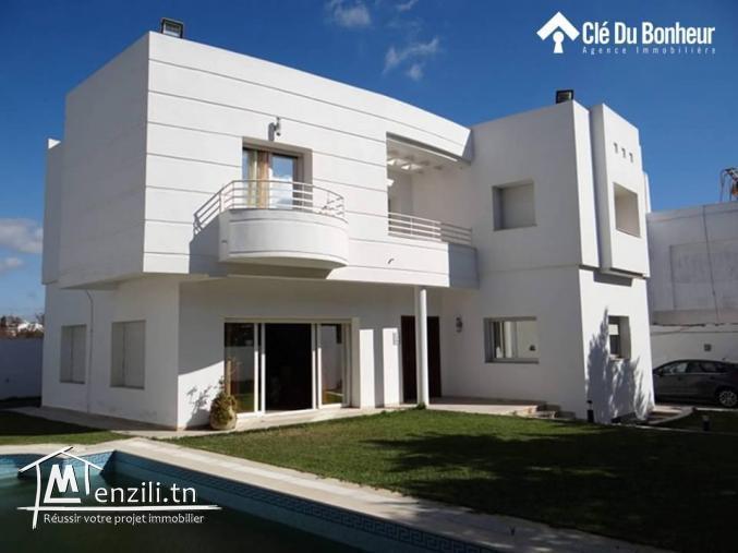 Villa avec piscine à Yasmine Hammamet