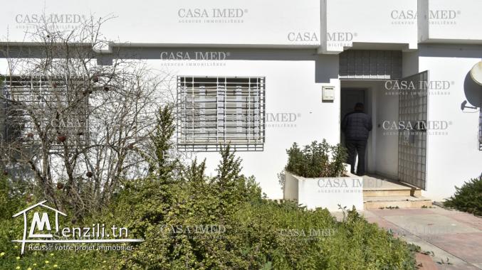 Un appartement s+3  sis à cité Amal –la manouba (en Rc )