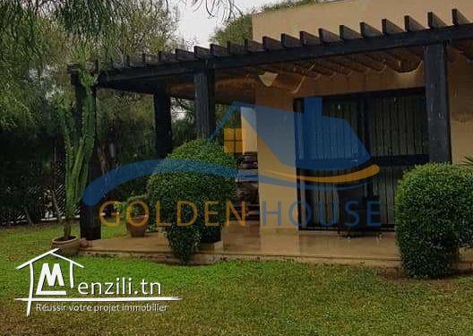Magnifique à vendre villa Gammarth zone touristique