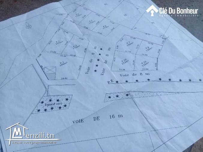 Terrain à Cité Ghazela à prix introuvable