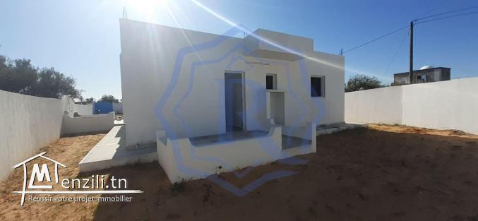 Villa plein pieds a Arkou Midoun Djerba pour location annuelle