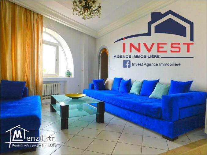 Appartement S +2 meublé  avec terrasse  au Golden Tulip