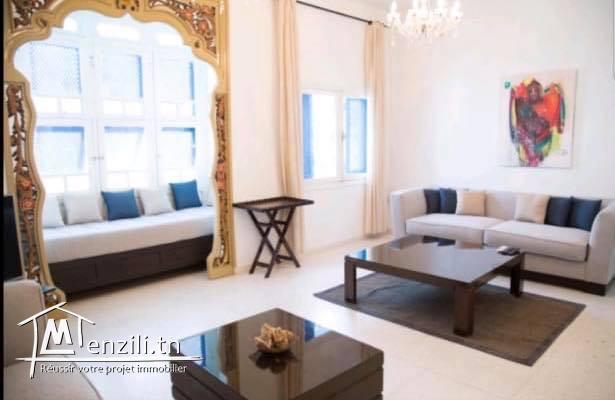 bel appartement meublé S+3