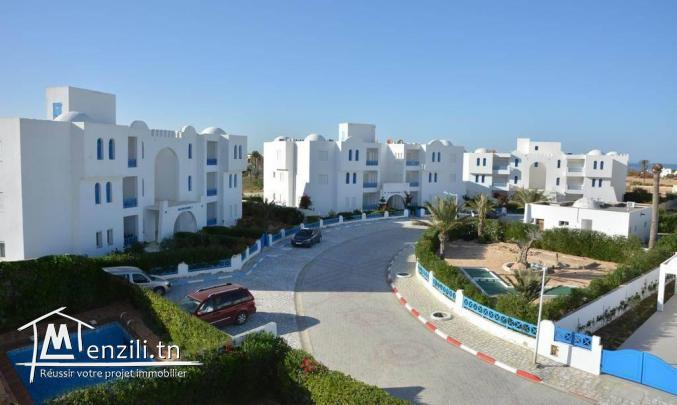 Merveilleux deux pièces dans résidence sécurisée à Djerba