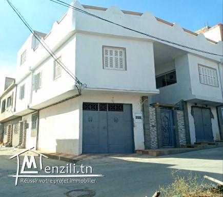 villa a ras jbel 3 etages a vendre