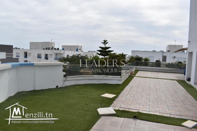 AV un beau duplex S+2 avec terrasse à AFH MREZGA