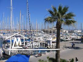 A vendre Appartement Cap Marina Monastir vue Mer