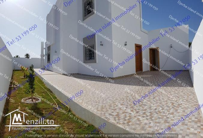 villa avec piscine houmet Souk