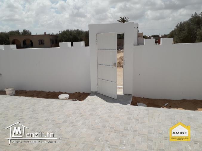 Villa neuve titre bleu proche du centre-ville Djerba Midoun