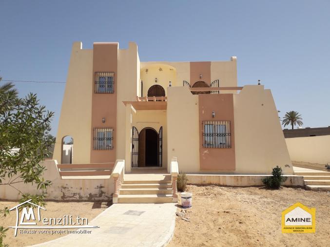 location d'une magnifique villa à Mezraya Djerba