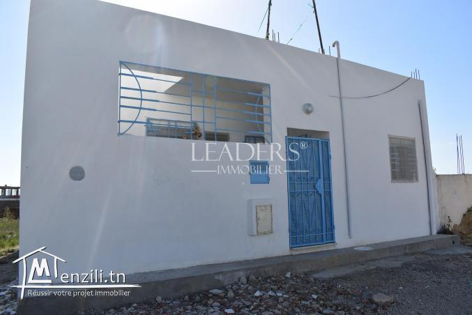 AV une maison à 1 km de yassmine hammamet