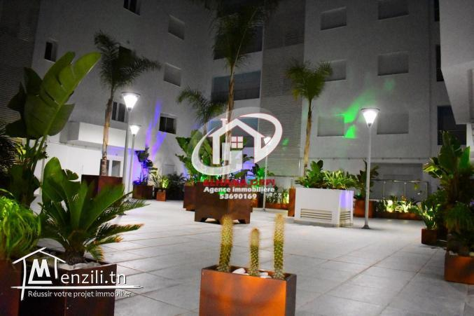 appartement s+2 très luxueux en plein zone touristique