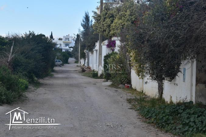 AV un terrain viabilisé  situé à AFH Brekaet el sahel