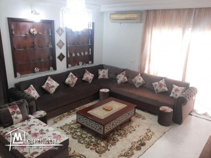 Salon et 3 Chambre a Cité El Ghazala Ariana