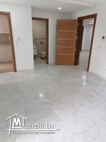 Particulier:vente appartement S+1 jardin menzah