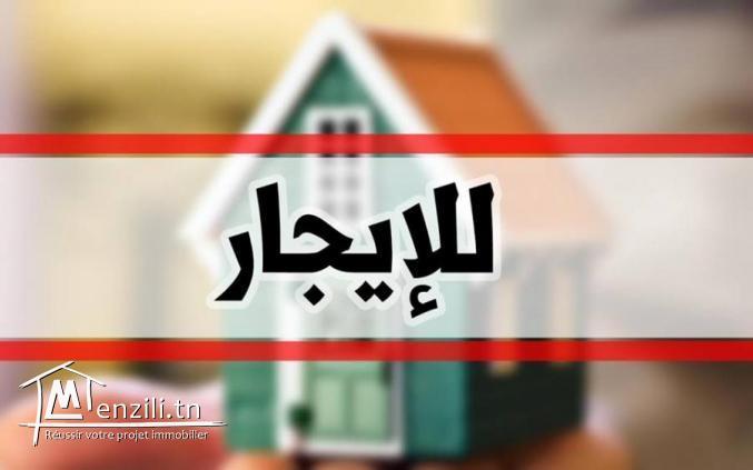 Maison a louer à route Mahdia klm4