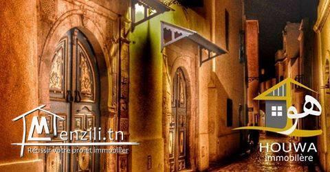 #ETAGE_DE_VILLA en duplex S+2 usage habitation #MANZEH9B