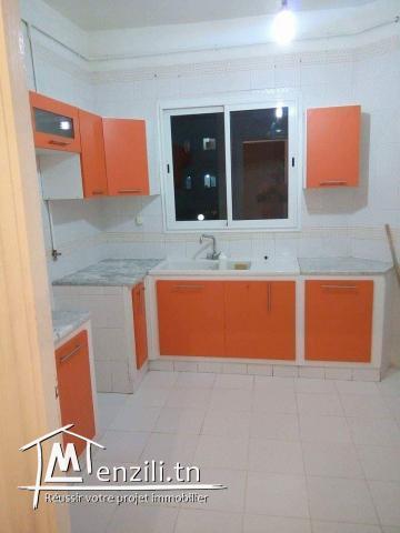 A vendre appartement s+2 à Agba
