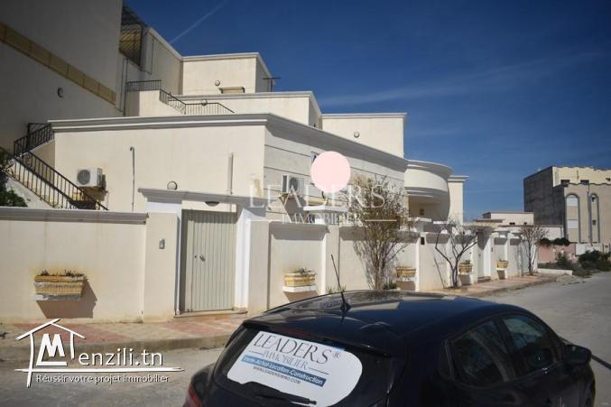 villa R+2 avec 6 appartements dans une zone prestigieuse a Borj_Cedria.