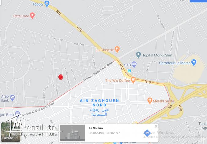 Maison meublé a louer  - Prés de clinique Soukra et carrefour