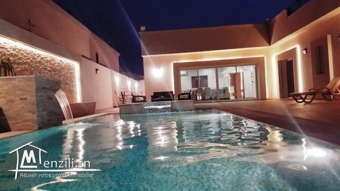 villa avec piscine L297