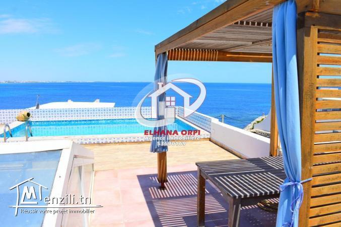superbe villa vue sur mer avec piscine à borj erras