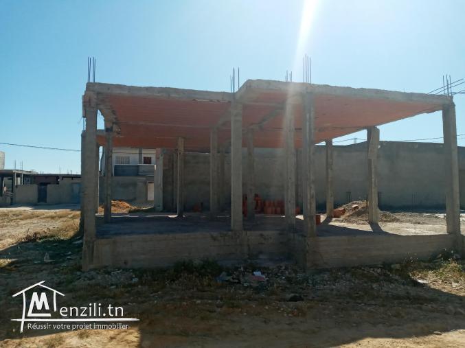 Maison inachevee à raoued centre 59mdمنزل للبيع رواد