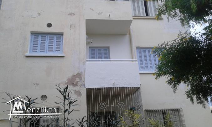 Vente appartement de 2 pièces et un salon à cité Ezzitouna