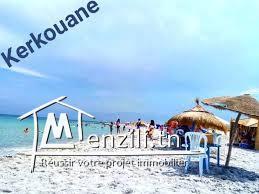 terrain à kirkwen plage ( Kélibia) ☎29232582