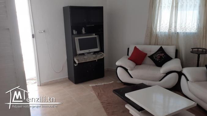 Studio s+1 meuble a louer tout equipee a wed nawar