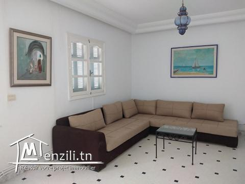 A vendre un étage de villa à Hammamet Centre