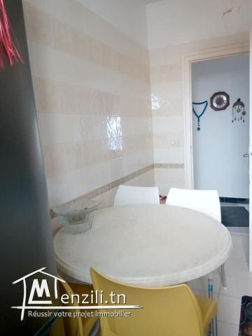 Un appartement à vendre à Sidi Selem Vue sur mer