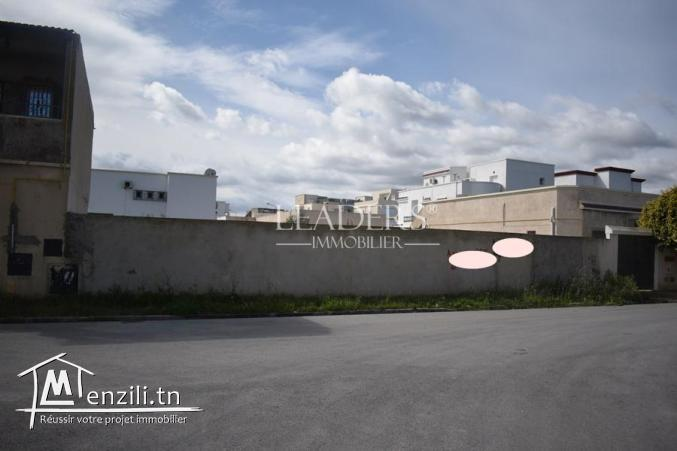 terrain de 500 m2 a vendre à Borj Cedria