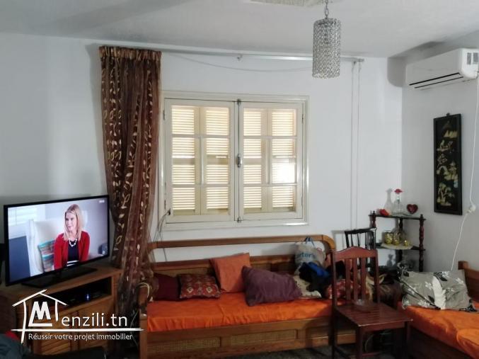 villa à deux étages à borj louzir