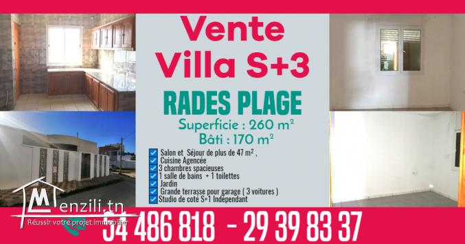 coquette Vente Villa S+3 + Studio